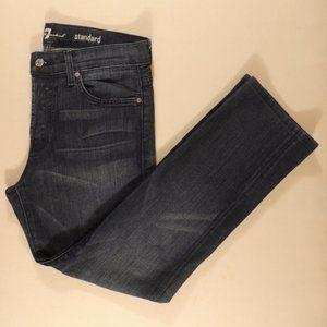 7 For All Mankind Men's Blue Jeans Standard Sz 32